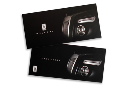 Rolls Royce Invitations